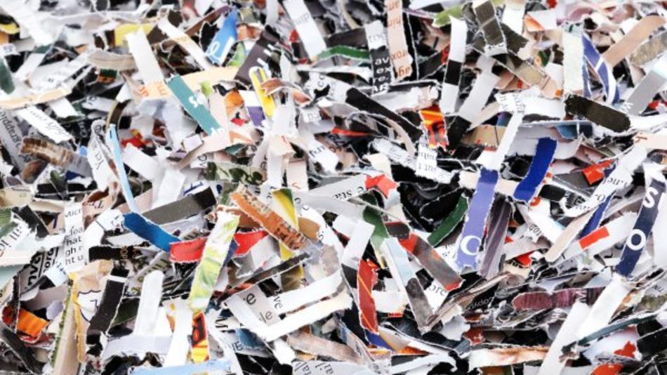 Residuos papel