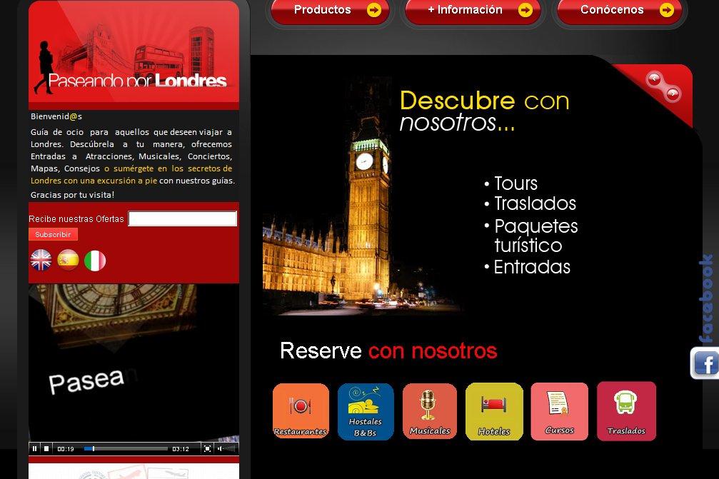 Paseando por Londres web