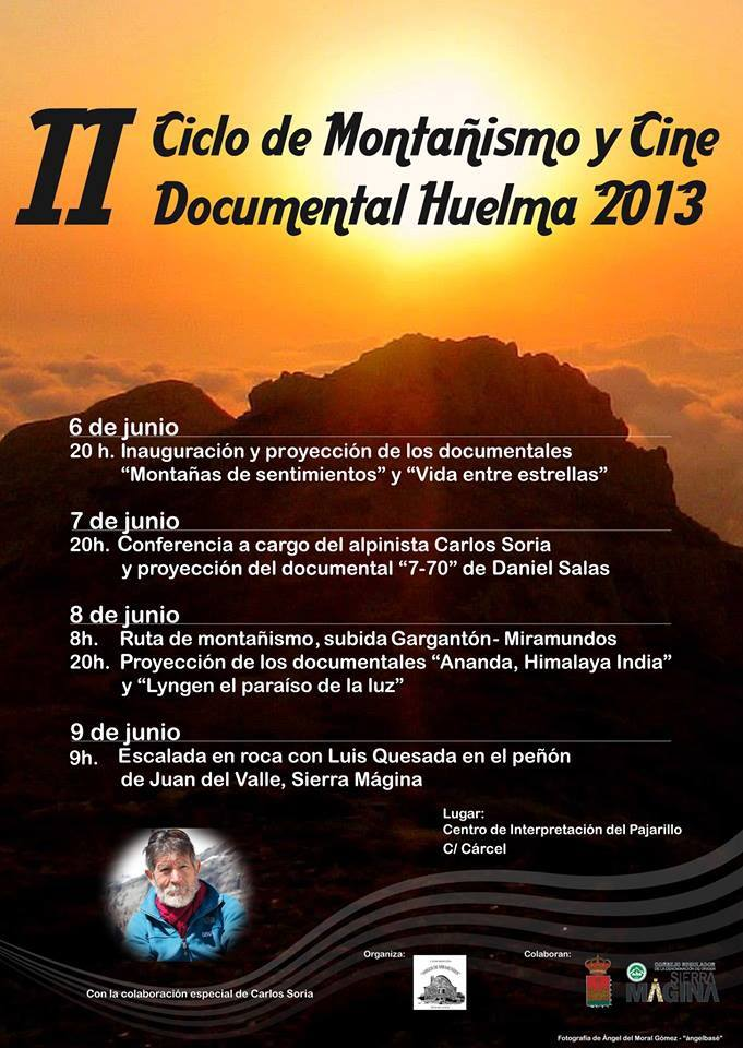 Cartel Montañismo Huelma