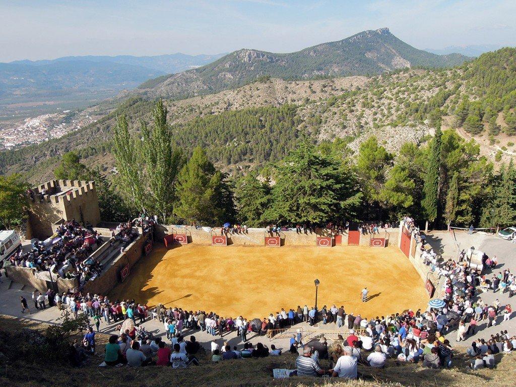 plaza de toros Segura de la Sierra