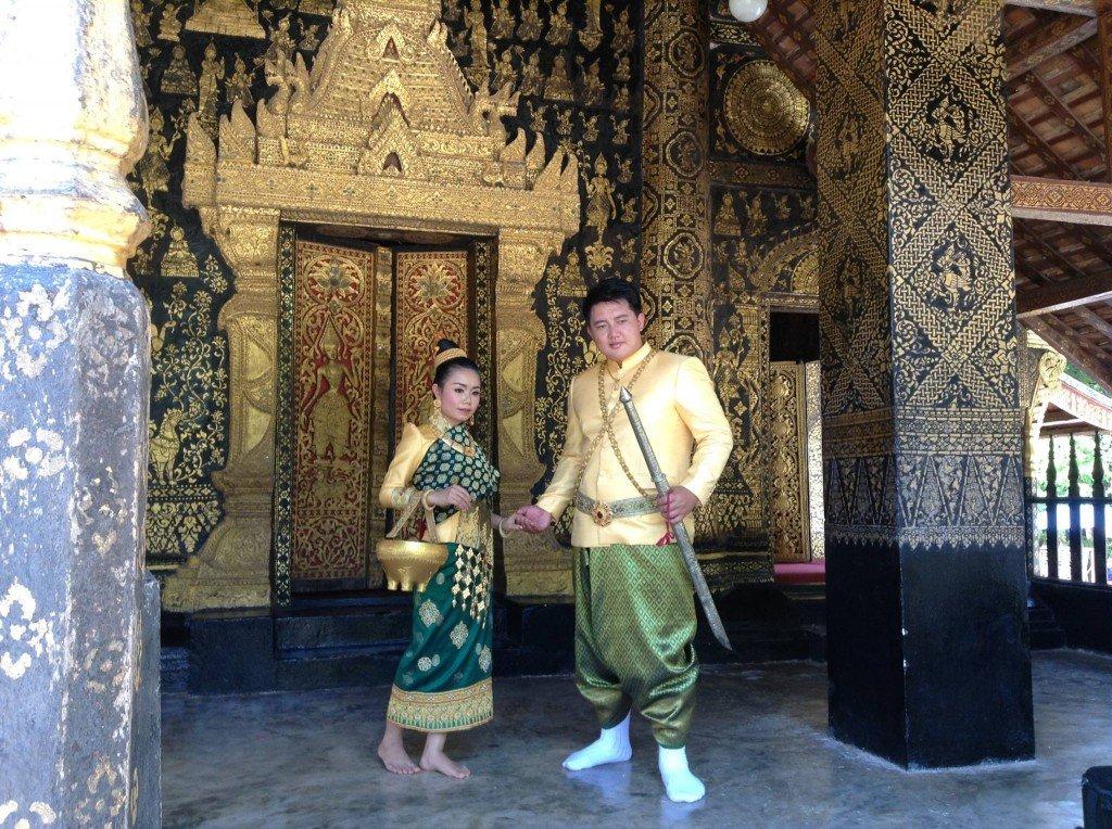 Boda laosiana, Luang Prabang