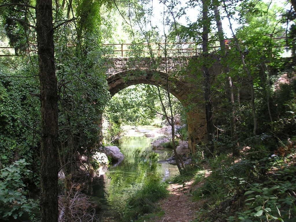 Puente de La Herreria y río Guadalquivir
